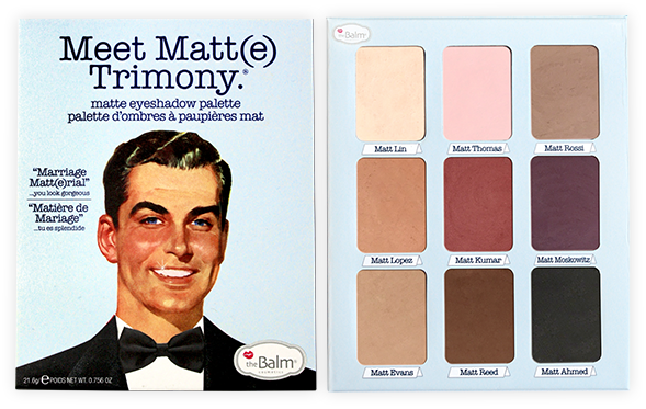 theBalm® Meet Matt(E) Trimony.® Matte Eyeshadow Palette