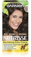 Garnier Nutrisse Nourishing Colour Cream, 33 Darkest Golden Brown