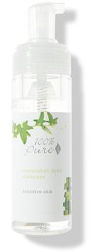 100% Pure Cucumber Juice Facial Cleansing Foam