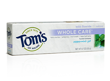 Tom's OF MAINE Peppermint Whole Care® Toothpaste Gel