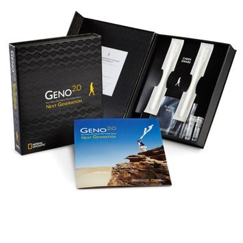 Geno 2.0 Next Generation Genographic Project Participation and DNA Ancestry Kit