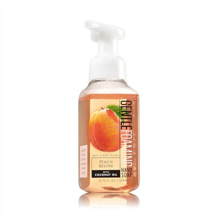 Bath & Body Works Peach Bellini Gentle Foaming Hand Soap