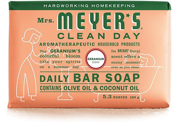 Mrs. Meyer's Clean Day Geranium Daily Bar Soap