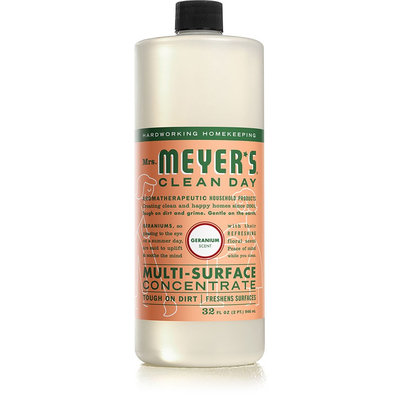 Mrs. Meyer's Clean Day Geranium Multi-Surface Concentrate