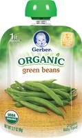 Gerber® Organic 1st Foods® Pouch - Green Beans