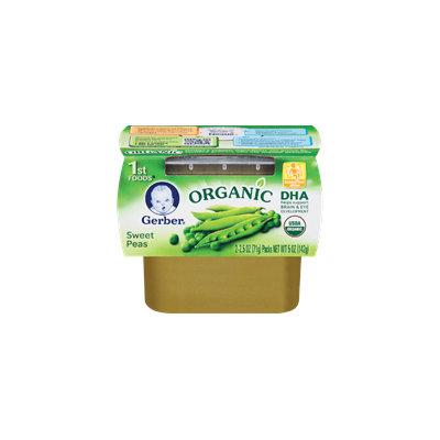 Gerber® Organic 1st Foods® Sweet Peas