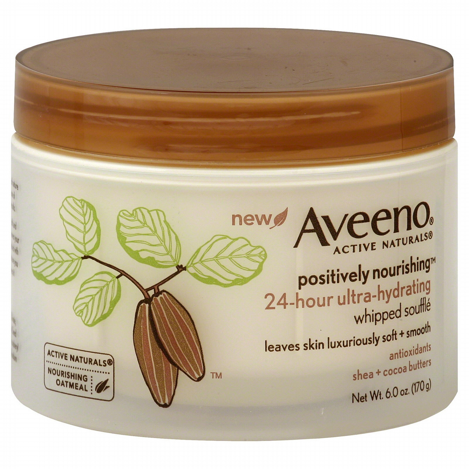 Aveeno® Active Naturals Positively Nourishing Whipped Souffle