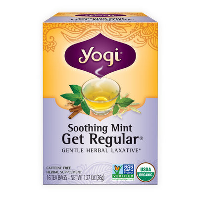 Yogi Tea Soothing Mint Get Regular