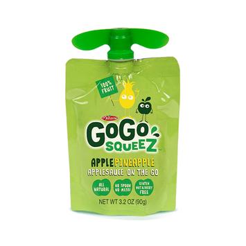GoGo SQUEEZ APPLE PINEAPPLE APPLESAUCE ON THE GO