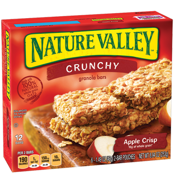 Nature Valley™ Crunchy Granola Bars Apple Crisp