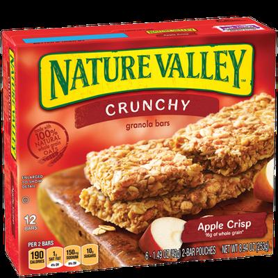 Nature Valley™ Crunchy Granola Bars Apple Crisp