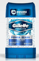 Gillette Power Beads Cool Wave Antiperspirant Deodorant