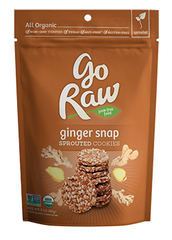 Go Raw Organic Ginger Snaps Super Cookies