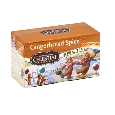 Celestial Seasonings® Holiday Herbal Tea Gingerbread Spice Caffeine Free