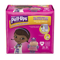 Pull-Ups Girls' Learning Designs Training Pants 2T-3T