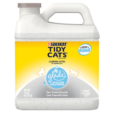 Purina Tidy Cats Clumping Cat Litter with Glade Tough Odor Solutions