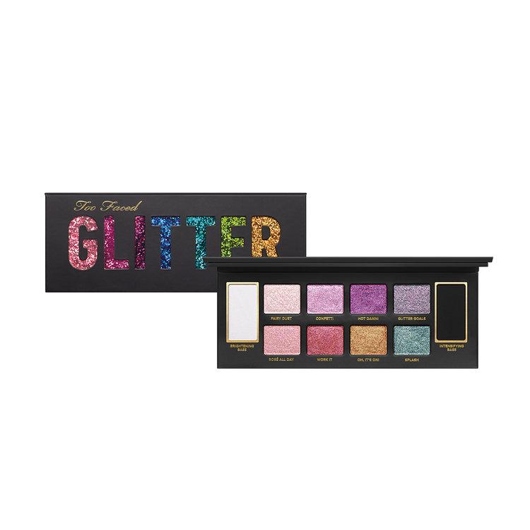 Slide: Too Faced Glitter Bomb Eyeshadow Palette