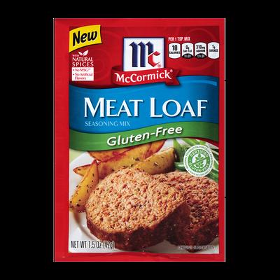 McCormick® Meat Loaf Seasoning Mix - Gluten Free