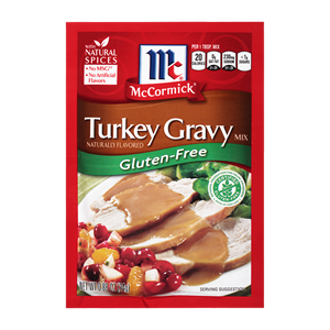 McCormick® Gluten-Free Turkey Gravy Mix