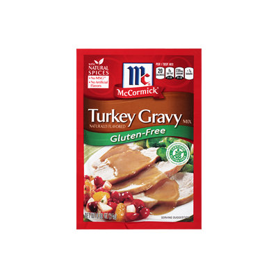 McCormick® Gluten-Free Turkey Gravy Mix