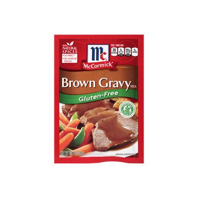 McCormick® Gluten Free Brown Gravy Mix