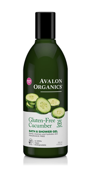 Avalon Organics Gluten-free Cucumber Bath & Shower Gel