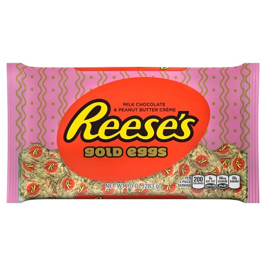 Reese's Easter Gold Eggs