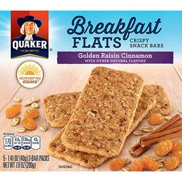 Quaker Life® Breakfast Flats Golden Raisin Cinnamon Breakfast Bars