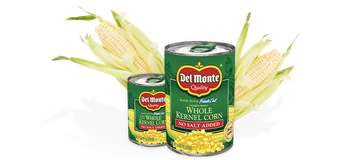Del Monte® Golden Sweet Whole Kernel Corn - No Salt Added