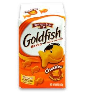Goldfish Crackers Cheddar