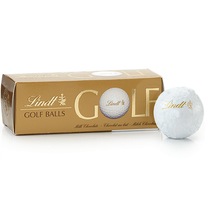 Lindt Milk Chocolate Golf Balls