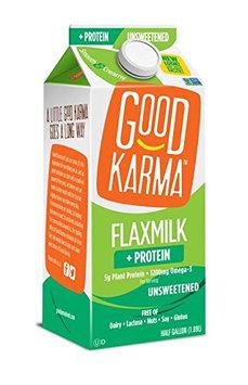 Good Karma Dairy Free Flax Milk Protein + Original Unsweetened