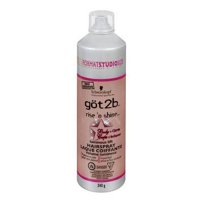 göt2b rise'n'shine Body and Gloss Luminous Lift Hairspray