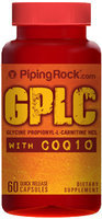 Piping Rock GPLC GlycoCarn Propionyl-L-Carnitine HCl with CoQ10 60 Capsules