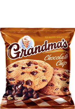 Grandma's Cookies Chocolate Chip Cookies