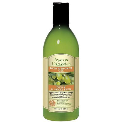 Avalon Organics Olive & Grape Seed Bath & Shower Gel