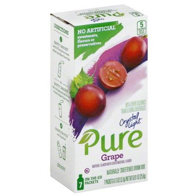 Crystal Light Pure On the Go Grape Drink Mix