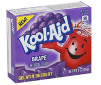 Kool-Aid Grape Gelatin Dessert Mix