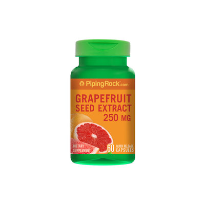 Piping Rock Grapefruit Seed Extract 250mg 60 Capsules