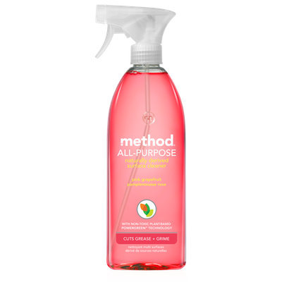 method all-purpose natural surface cleaner pink grapefruit