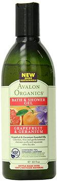 Avalon Organics Refreshing Grapefruit and Geranium Bath and Shower Gel