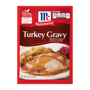 McCormick® Turkey Gravy Mix