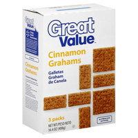 Great Value Cinnamon Grahams