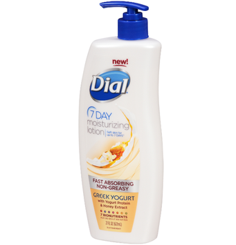 Dial® 7 Day Greek Yogurt Moisturizing Lotion