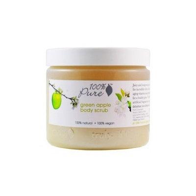 100% Pure Green Apple Nourishing Body Scrub