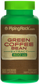 Piping Rock Green Coffee Bean 400mg Extract 90 Capsules
