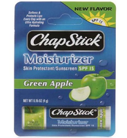 ChapStick®  Moisturizer With SPF 15 Green Apple