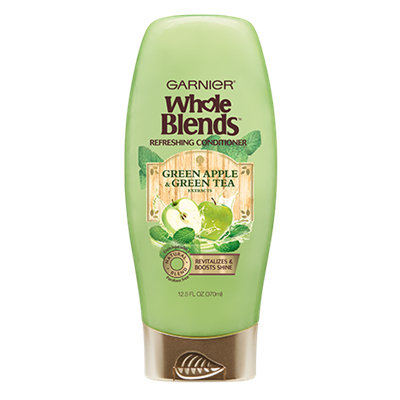 Garnier Whole Blends™ Green Apple & Green Tea Extracts Refreshing Conditioner