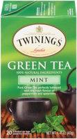 Twinings® Green Tea With Mint Tea Bags