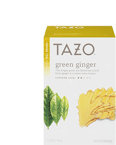 Tazo Green Ginger